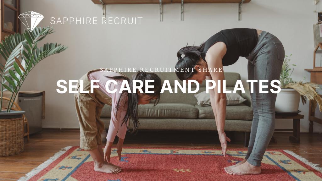 Self Care and Pilates blog header