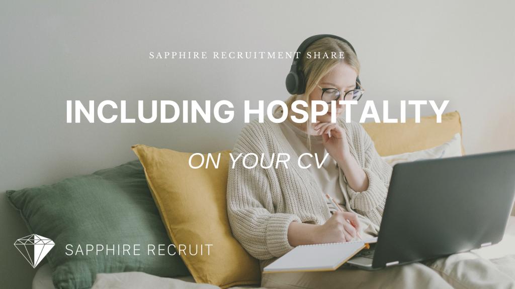 Writing Hospitality on your CV Blog Header